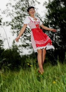 Talentiert und sexy: Romy Dadlhuber gehört zu den Jungstars der Volksmusikszene (Foto: Management)
