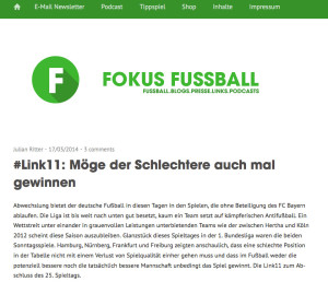 fokus fussball blog
