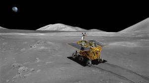 Chinesisches Mondfahrzeug «Jadehase»