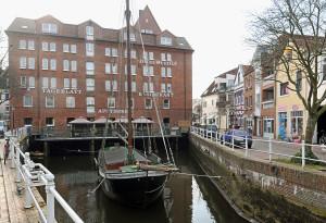 Das Fleth in der Altstadt von Buxtehude ist bald wieder hanseatisch.