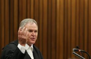 Der Pistorius-Verteidiger Barry Roux