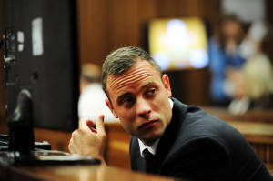 Der Angeklagte Oscars Pistorius