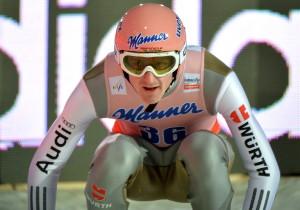 Im Sitzen zum Skiflug-Weltmeister: Severin Freund
