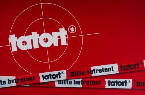 """Das Logo der TV-Krimiserie """"Tatort"""", aufgenommen am 07.03.2013 in Hamburg. Foto: Sven Hoppe"""